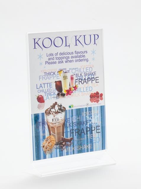 Kool Kup Flyer/Table Seller or Till Seller A5