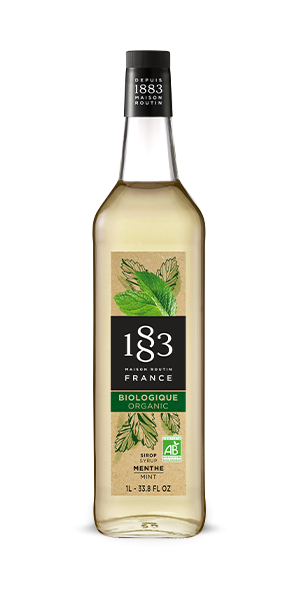 1883 Syrup Organic Mint
