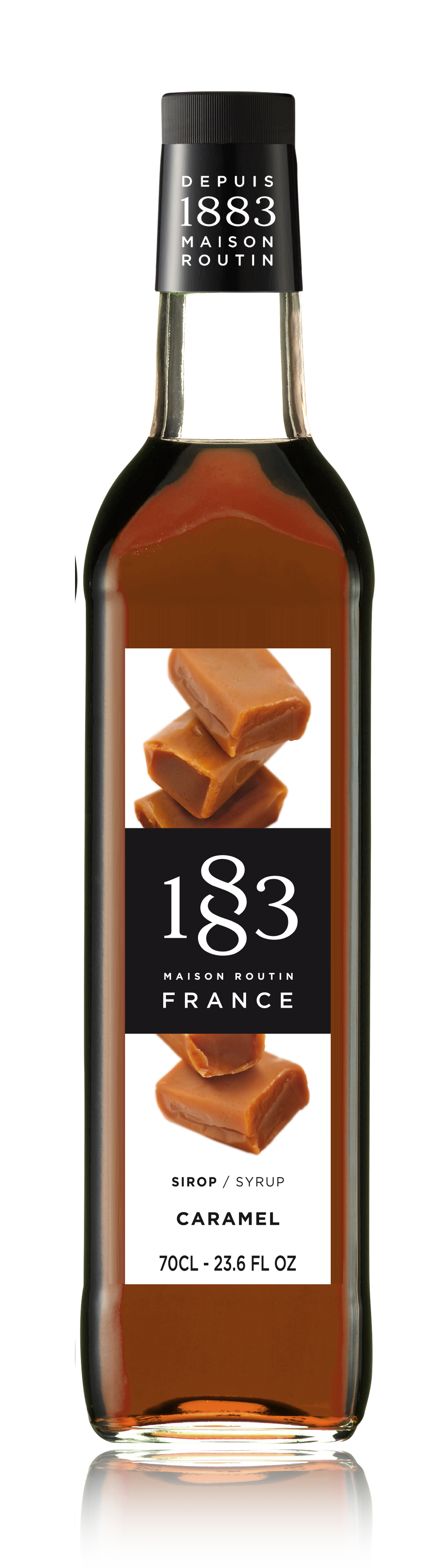 1883 Syrup Salted Caramel 70cl Glass Bottle