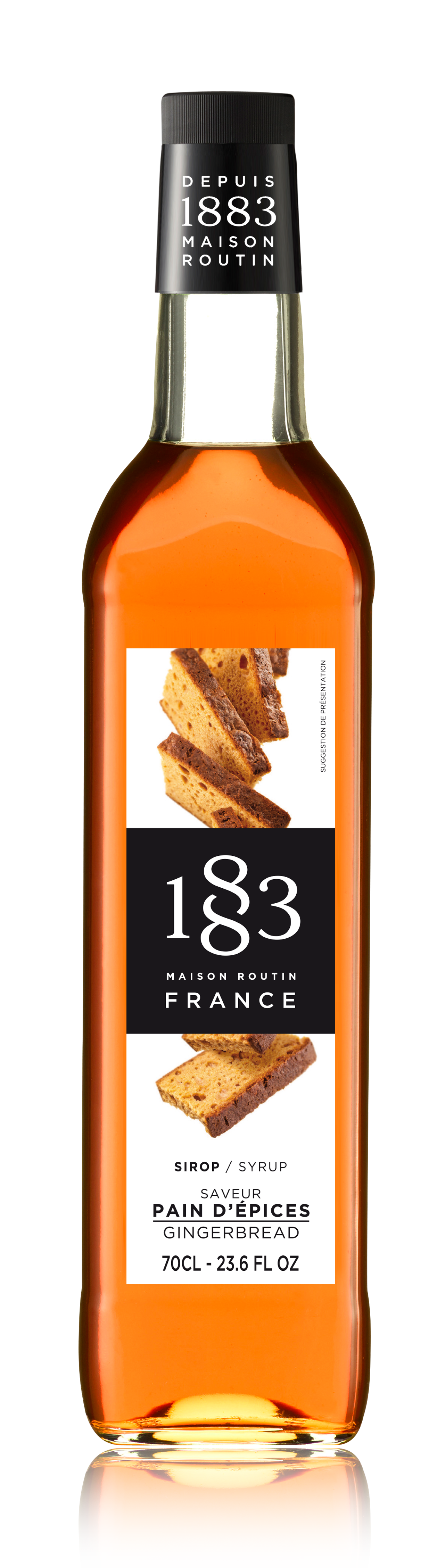 1883 Syrup Gingerbread 70cl Glass Bottle