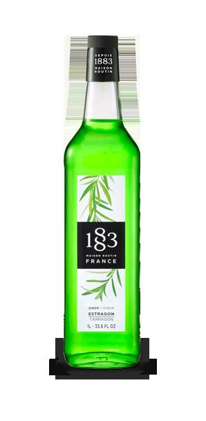 1883 Syrup Tarragon 1L Glass bottle