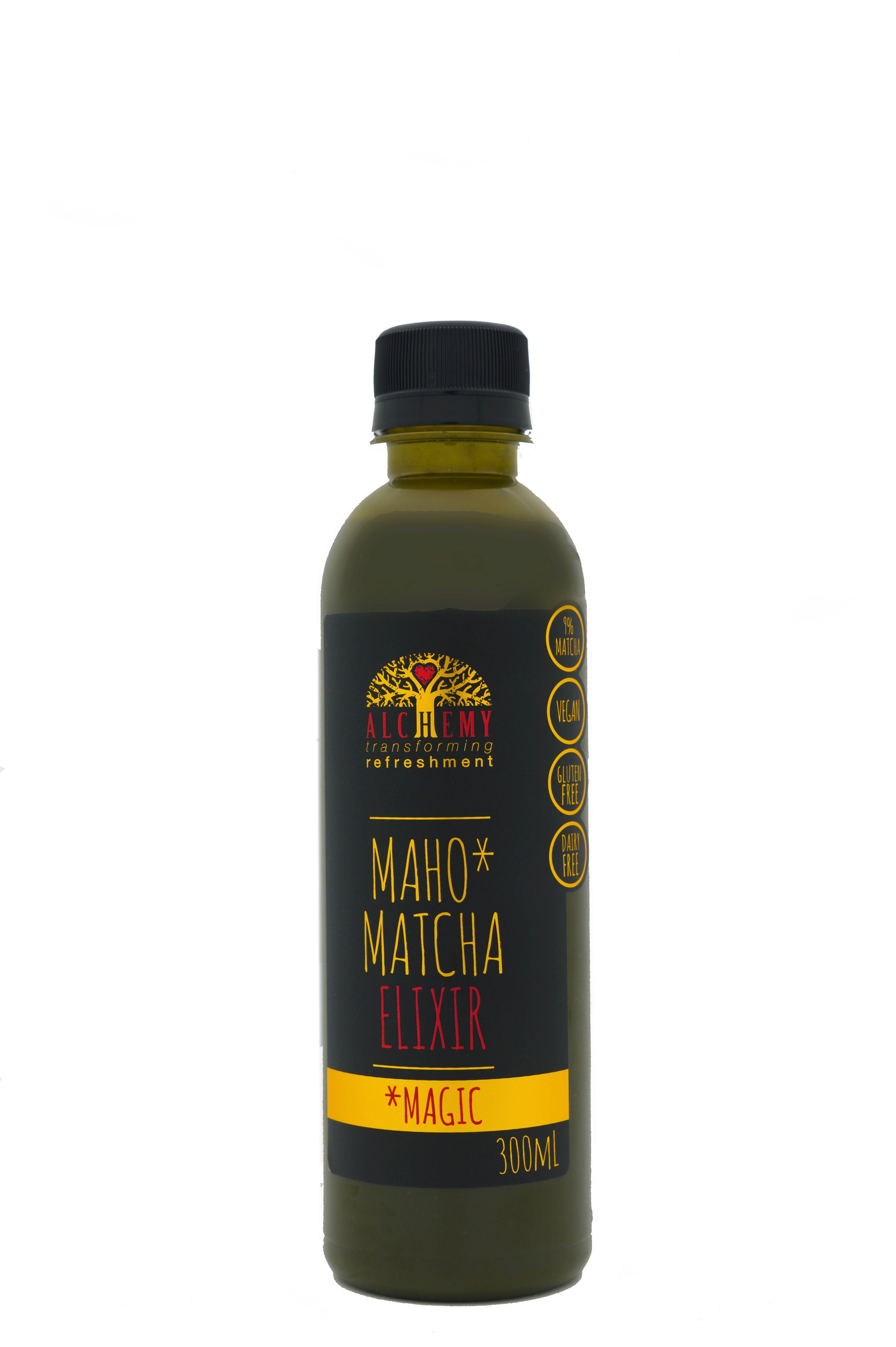 Alchemy Maho Matcha 300ml bottle