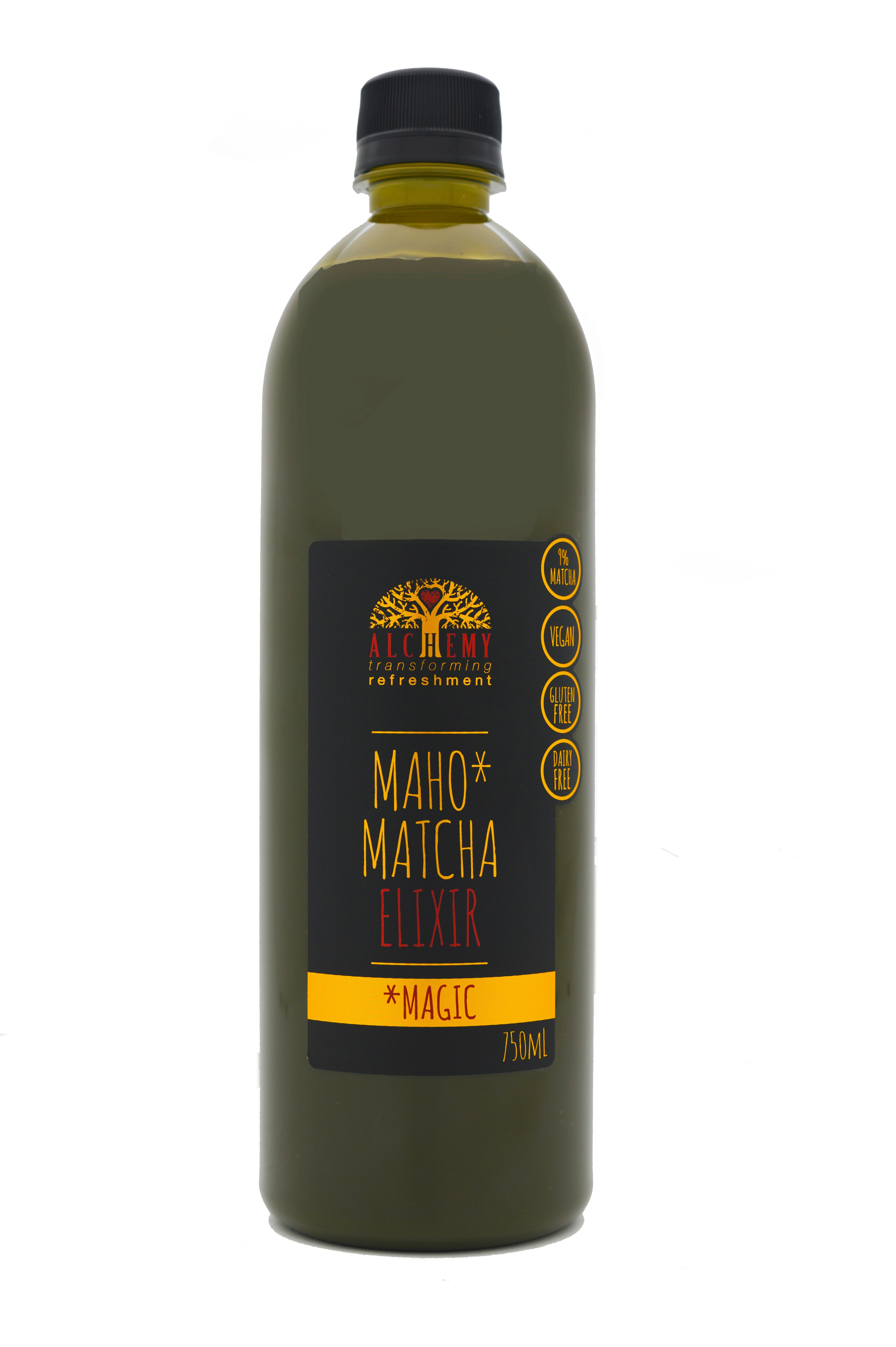 Alchemy Maho Matcha 750ml bottle