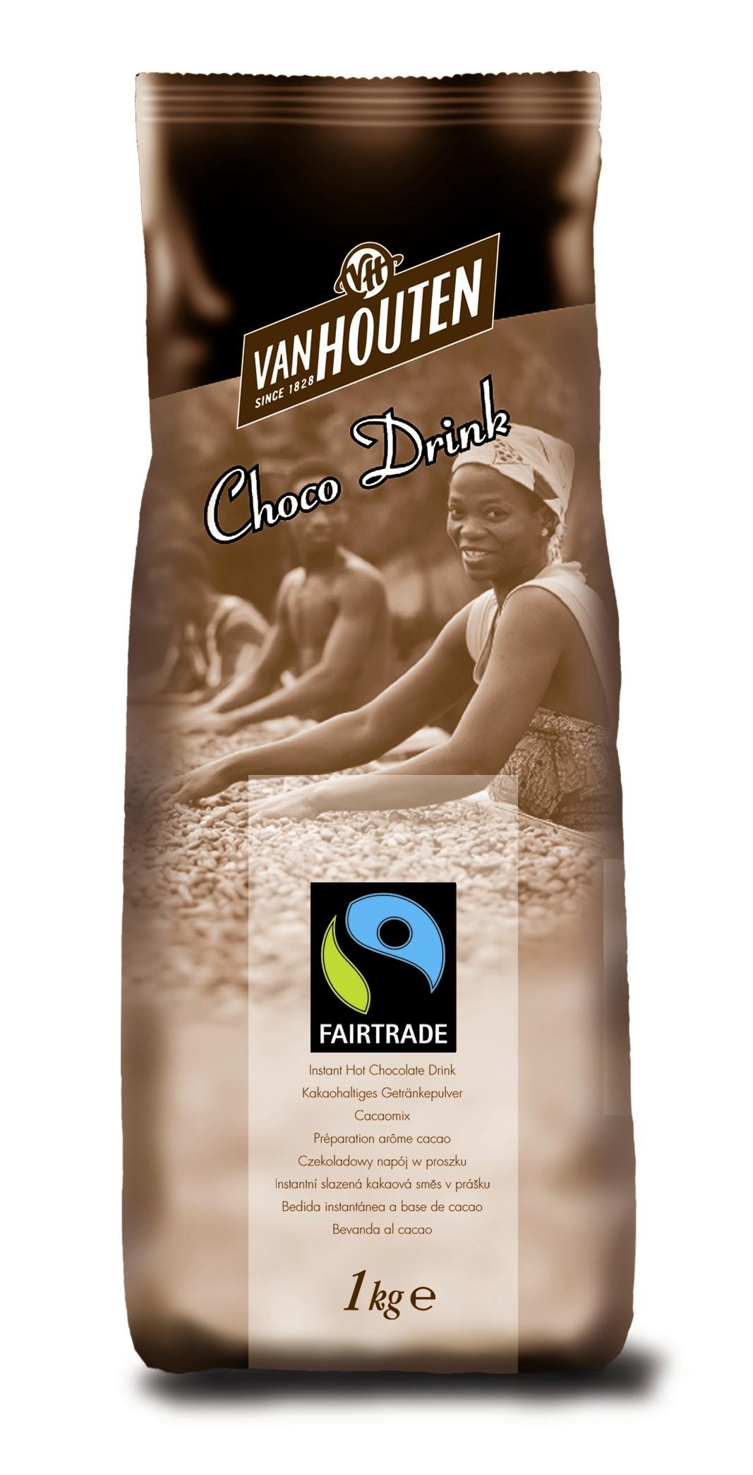 Van Houten Fairtrade Drinking Chocolate Powder