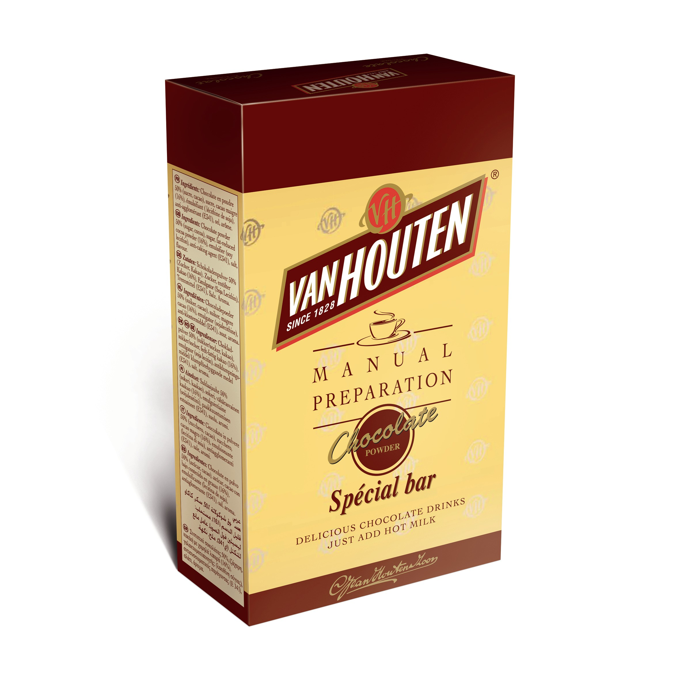 Van Houten Special Bar 32% Cocoa (10 x 1kg)