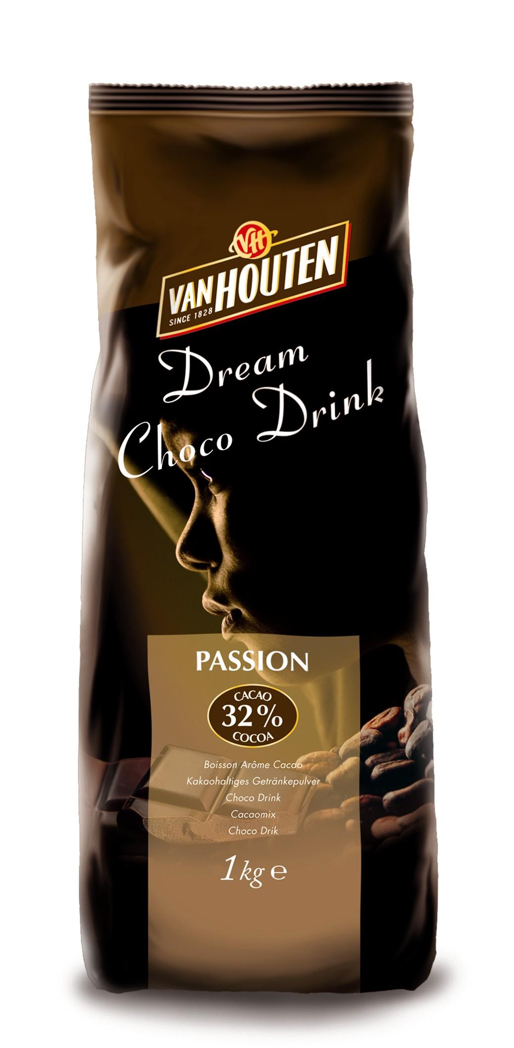 Van Houten Choco Passion Italian Style Drinking Chocolate