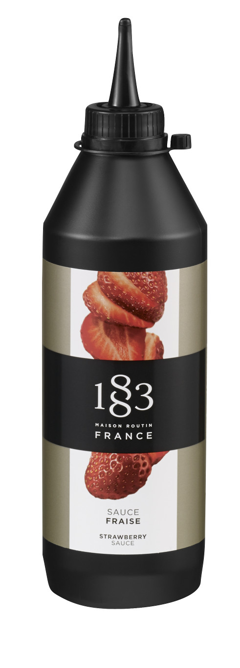 1883 Maison Routin Strawberry Sauce 500ml