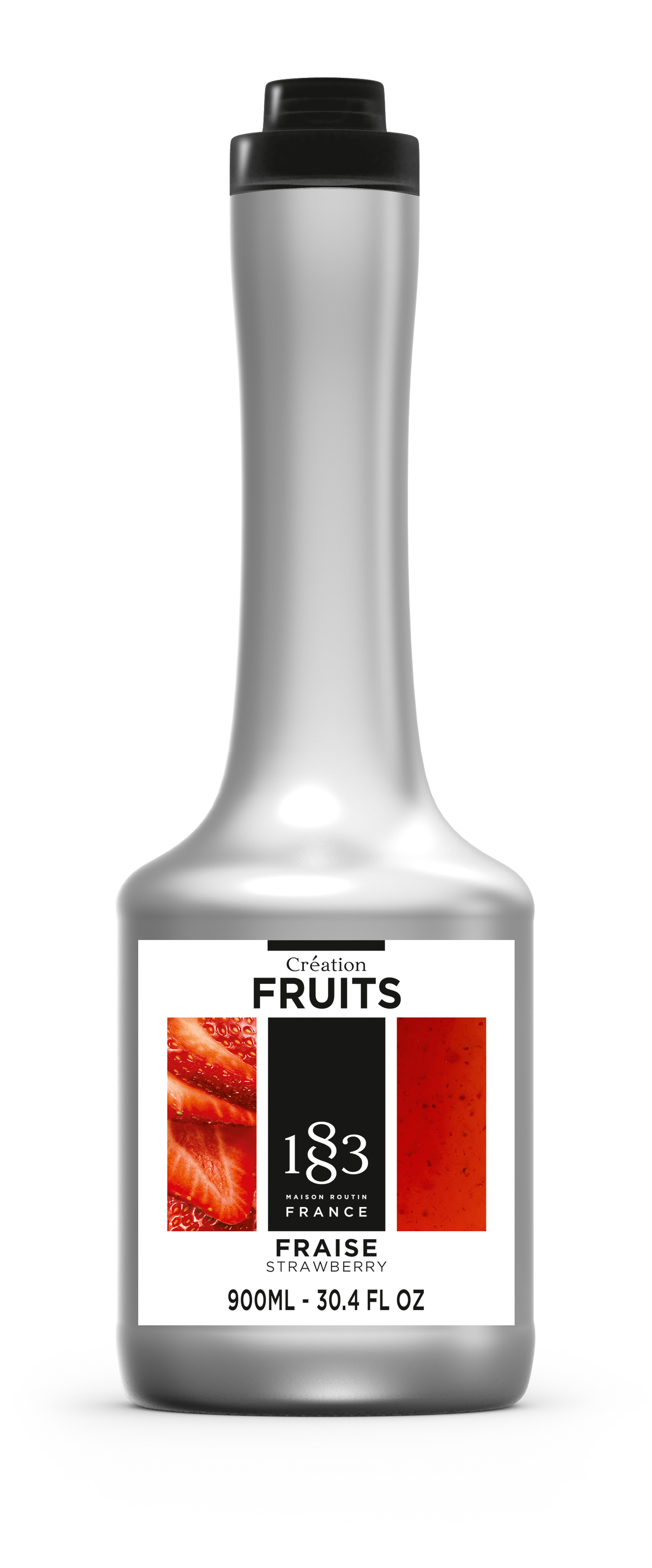 1883 Creation Fruit Puree - Strawberry 900ml