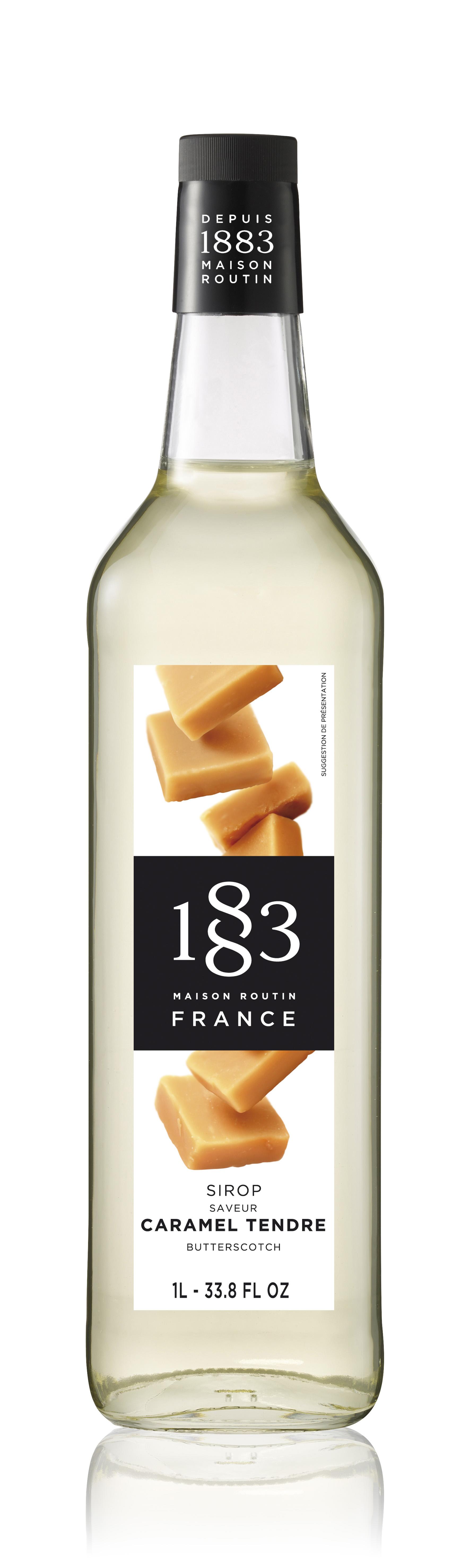 1883 Syrup Butterscotch 1L Glass Bottle