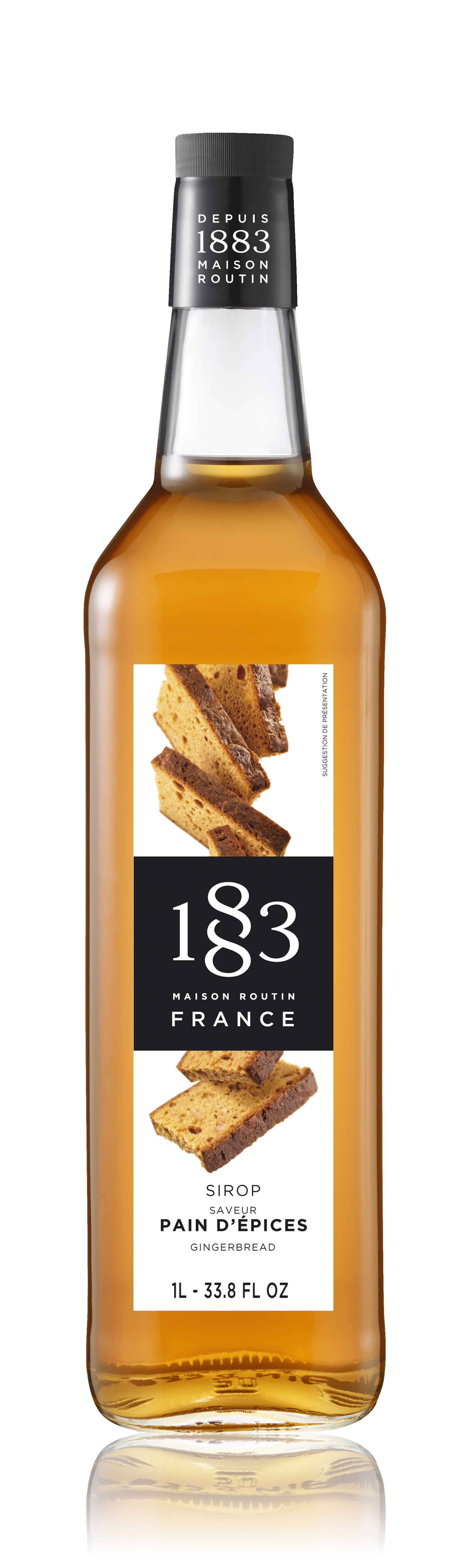 1883 Syrup Gingerbread 1L Glass Bottle