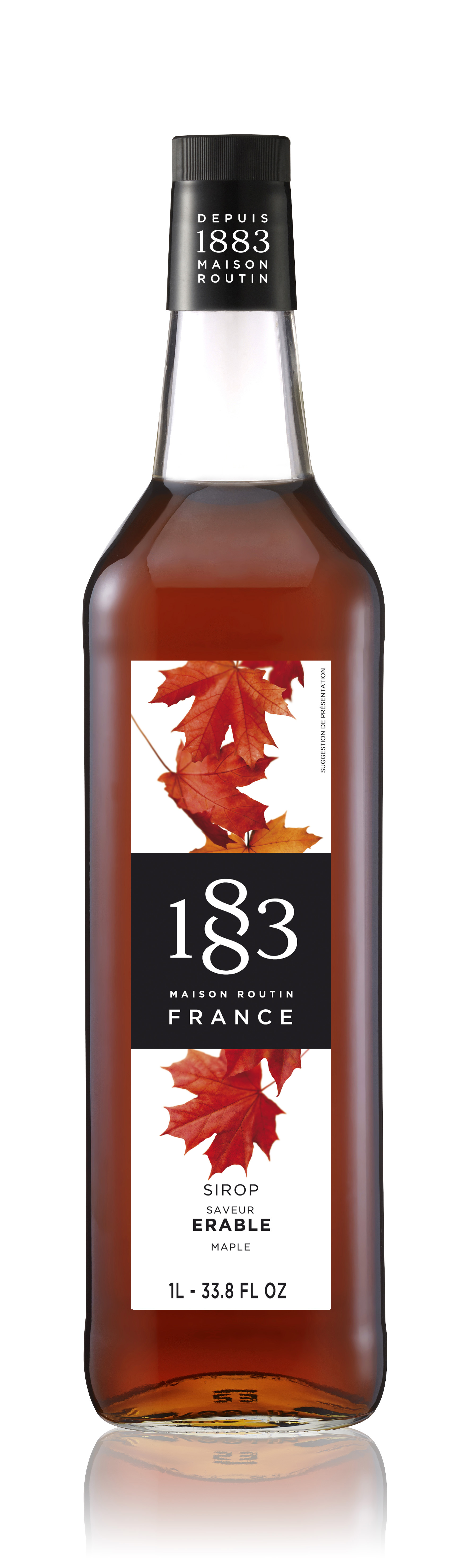 1883 Syrup Maple  1L Glass Bottle