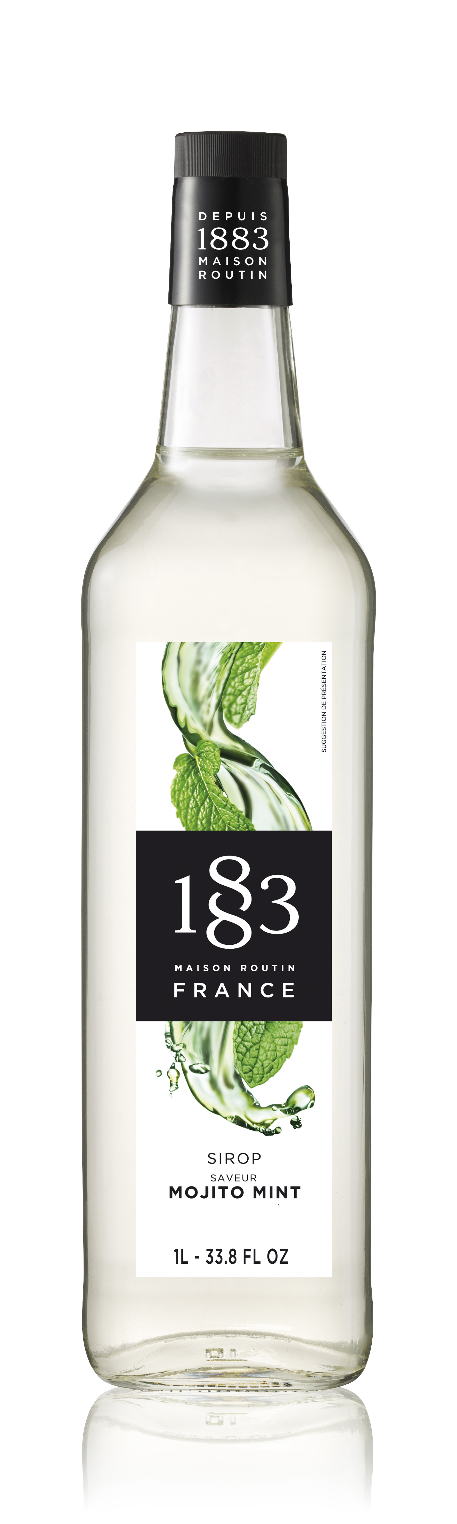 1883 Syrup Mojito Mint 1L Glass Bottle