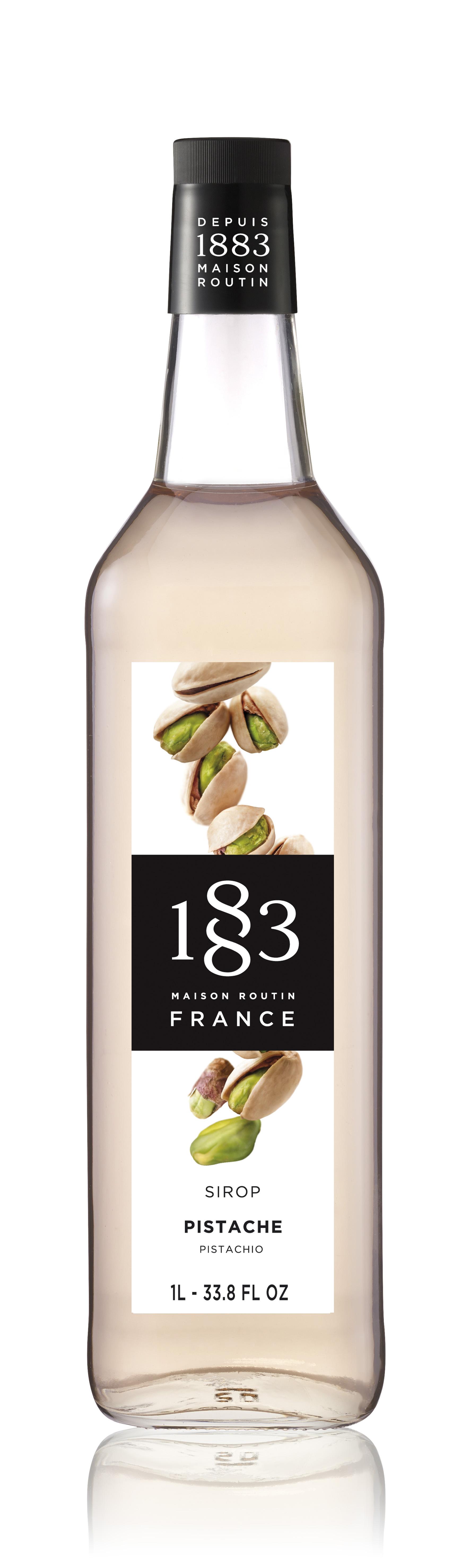1883 Syrup Pistachio 1L Glass Bottle