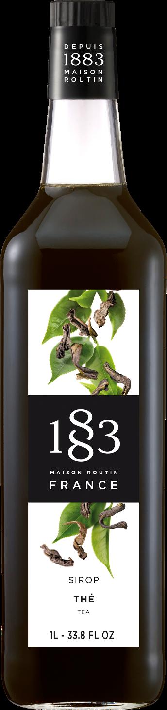 1883 Syrup Tea 1L Glass Bottle