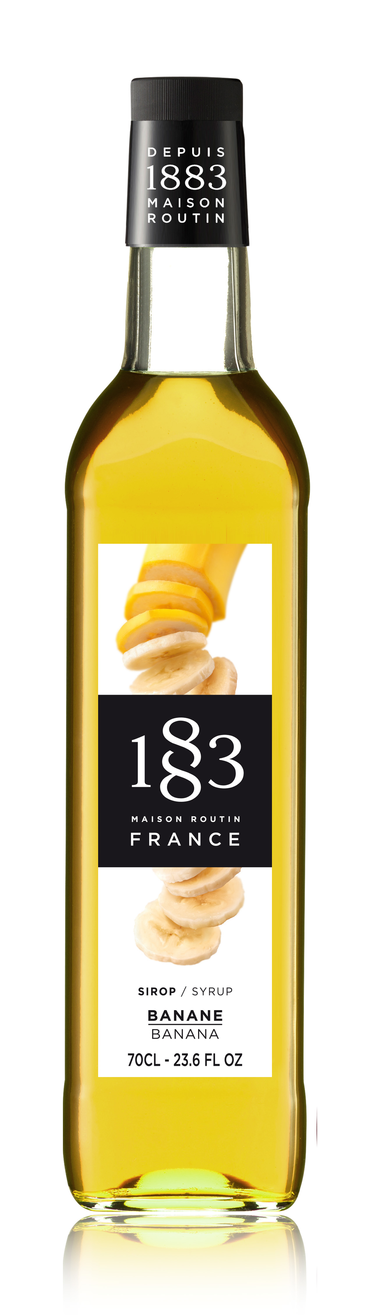 1883 Syrup Banana 70cl Glass Bottle