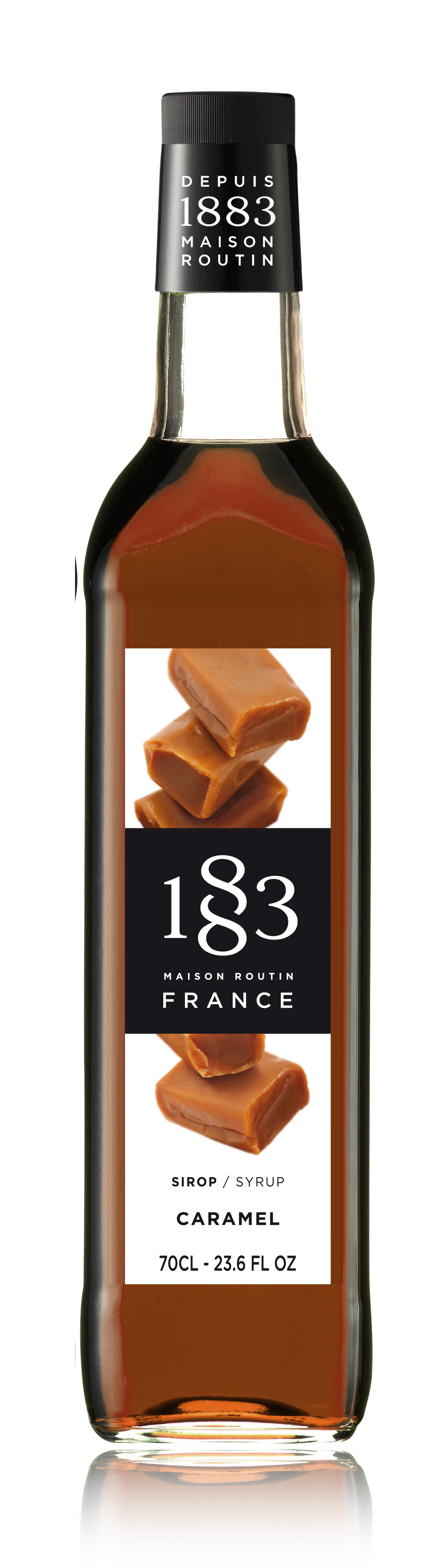 1883 Syrup Caramel 70cl Glass Bottle