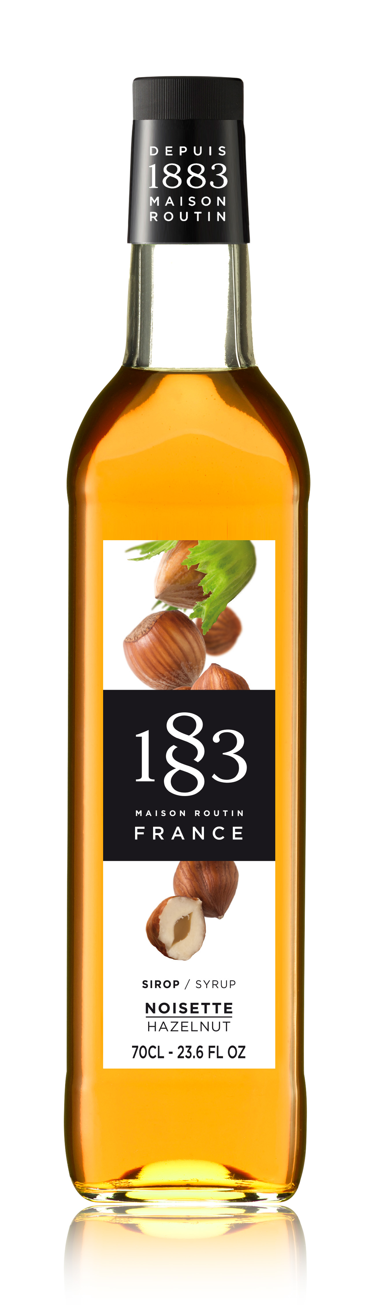 1883 Syrup Hazelnut 70cl Glass Bottle