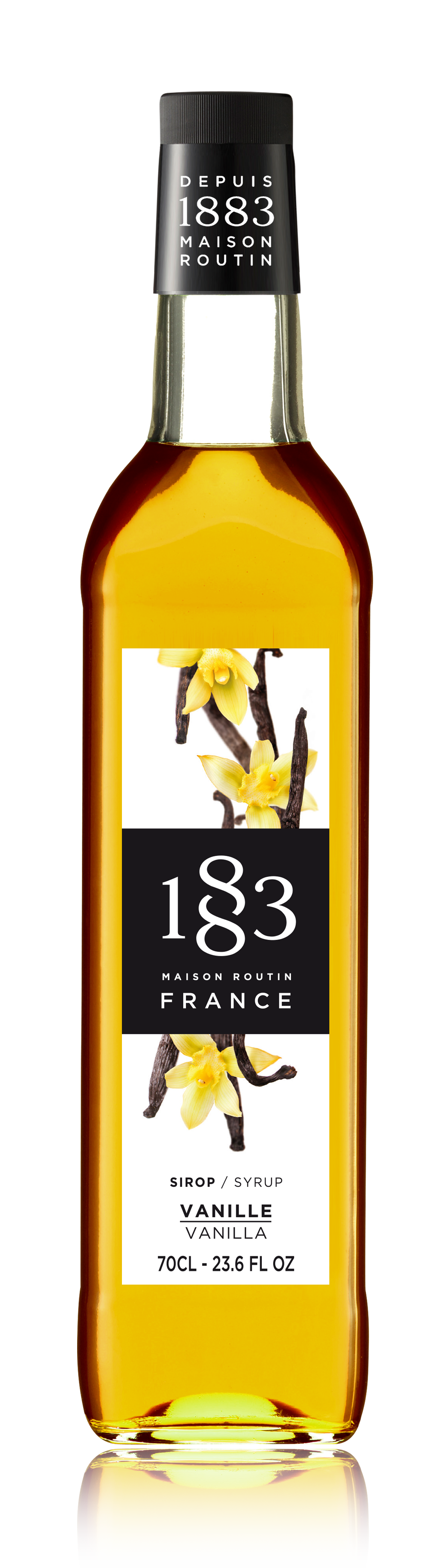 1883 Syrup Vanilla 70cl Glass Bottle