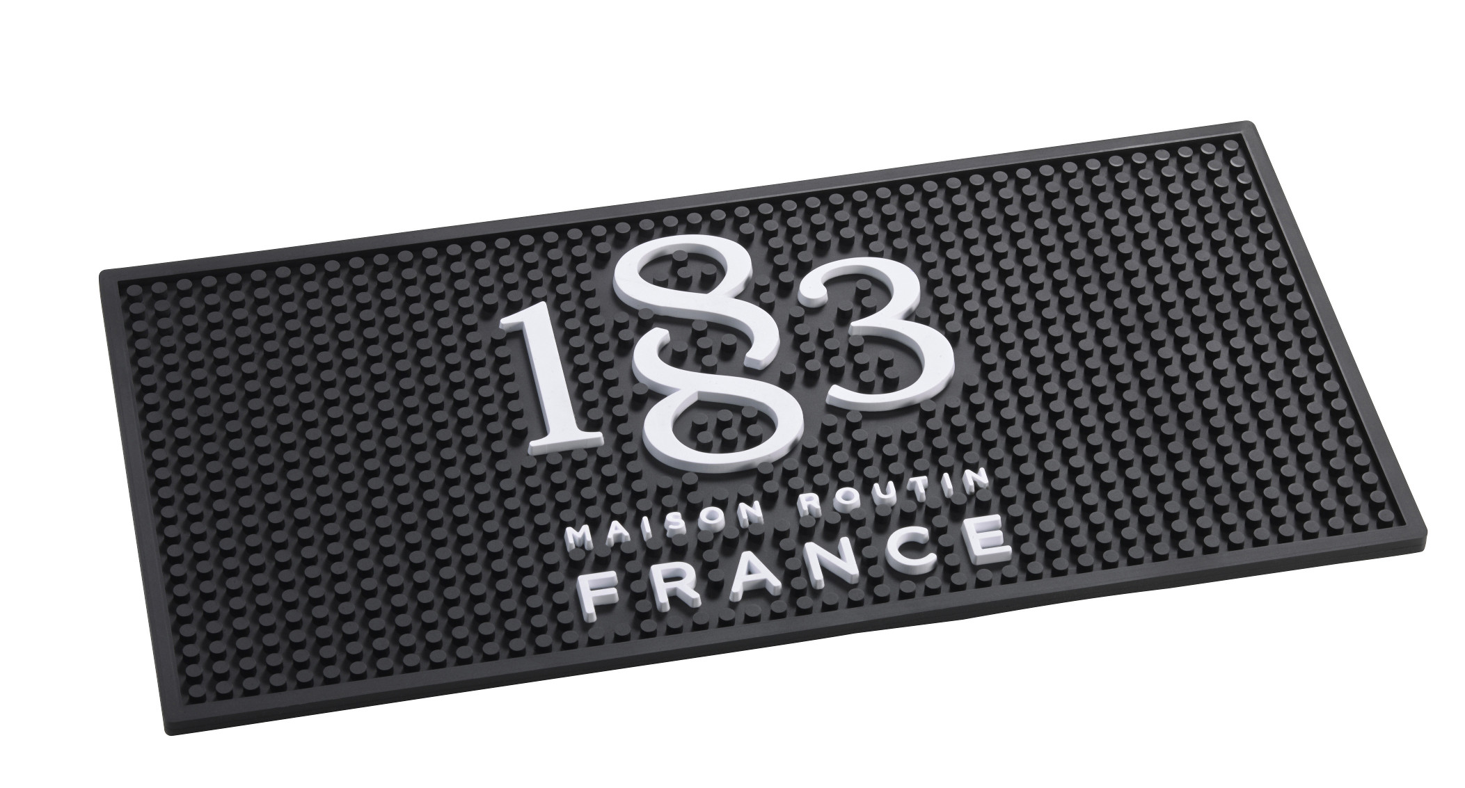 1883 Logo Stylish Rubber Bar / Counter Top Mat