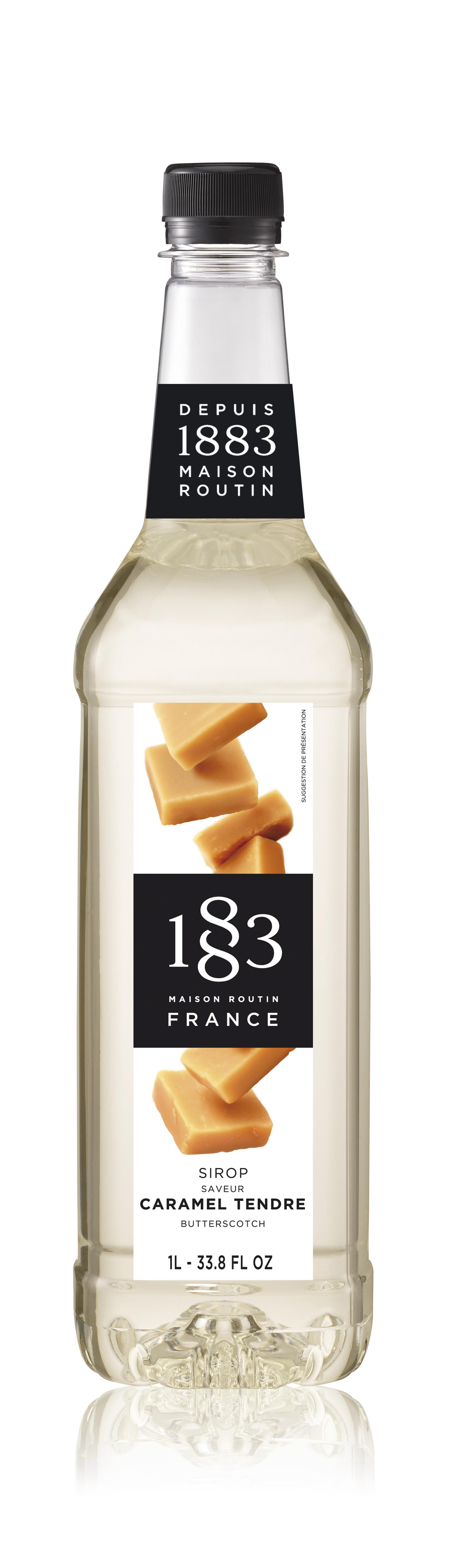 1883 Syrup Butterscotch 1L PET Plastic Bottle