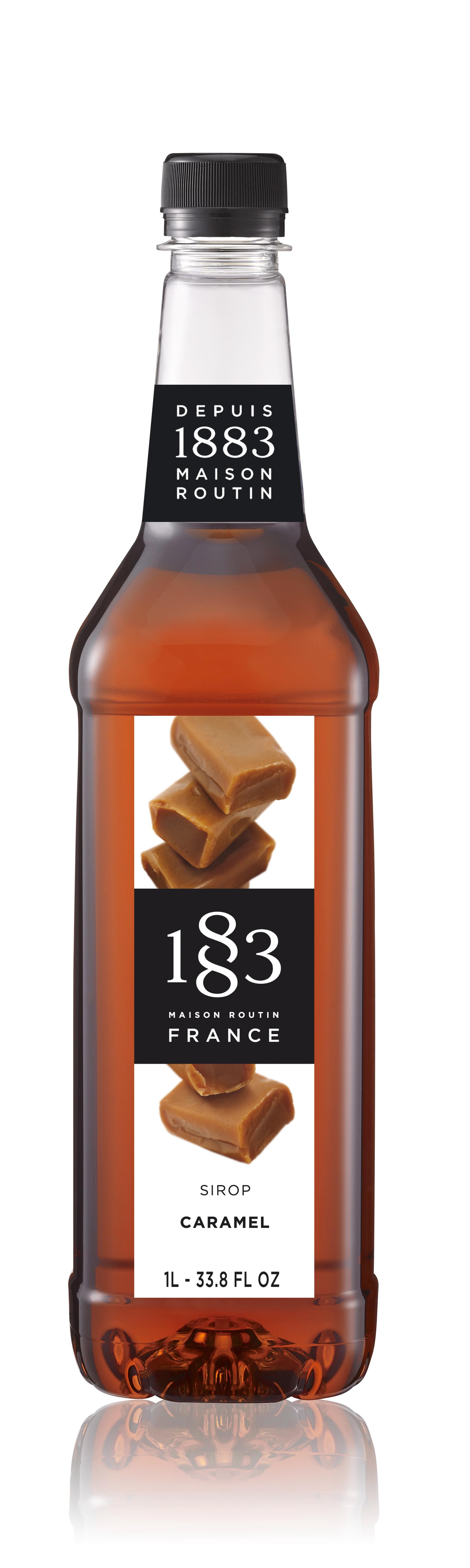 1883 Syrup Caramel 1L PET Plastic Bottle