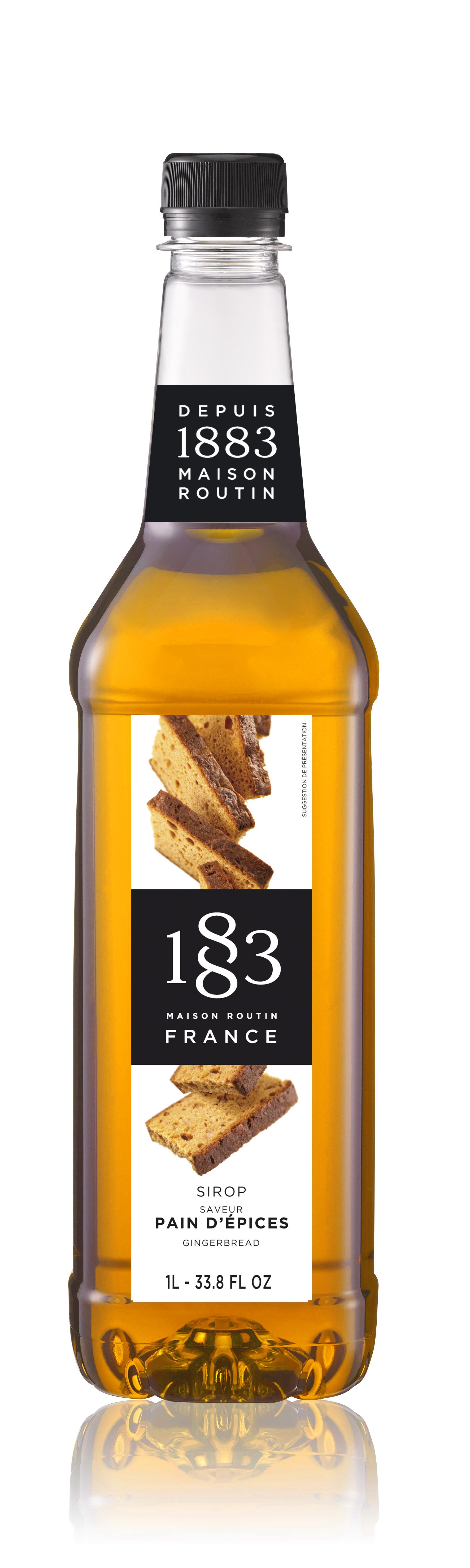 1883 Syrup Gingerbread 1L PET Plastic Bottle