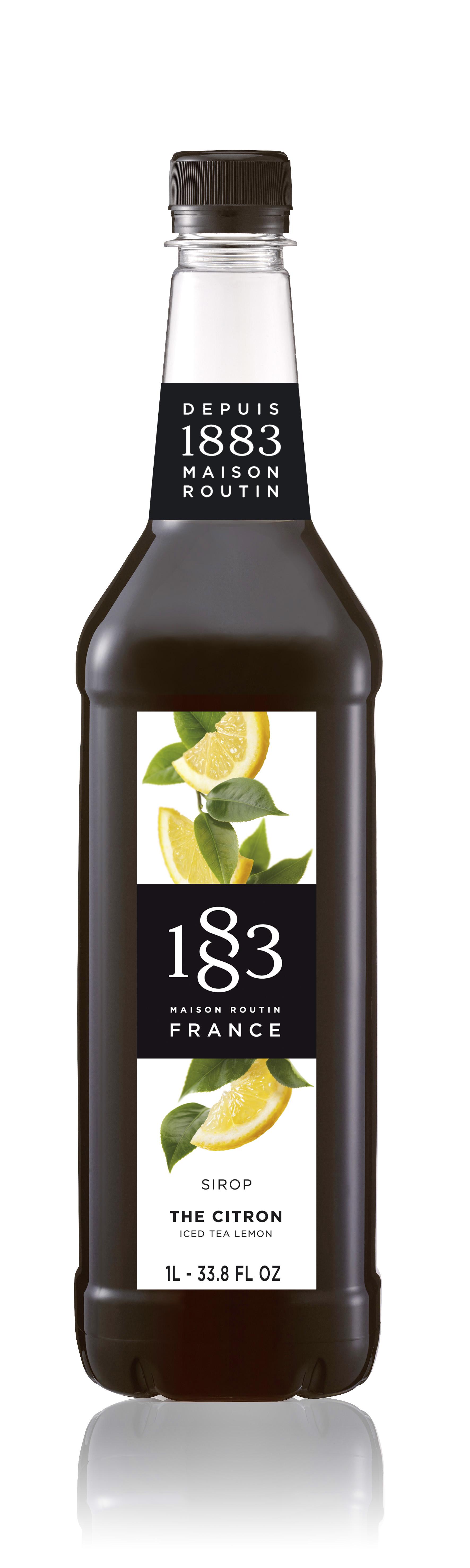 1883 Syrup Iced Tea Lemon  1L PET Plastic Bottle
