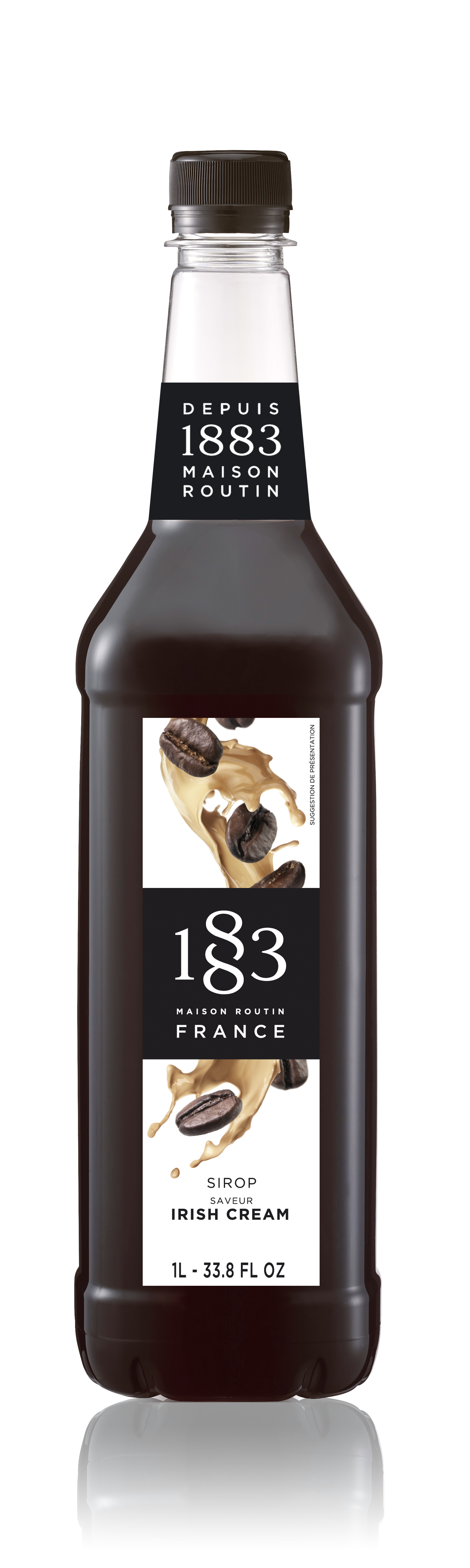 1883 Syrup Irish Cream 1L PET Plastic Bottle