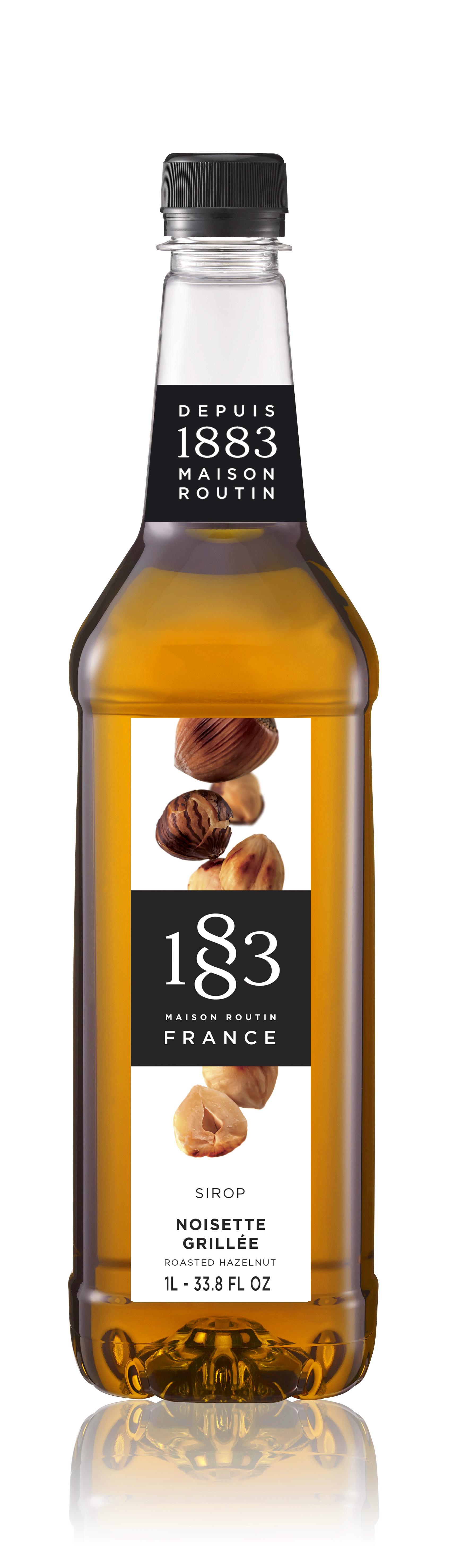 1883 Syrup Roasted Hazelnut 1L PET Plastic Bottle