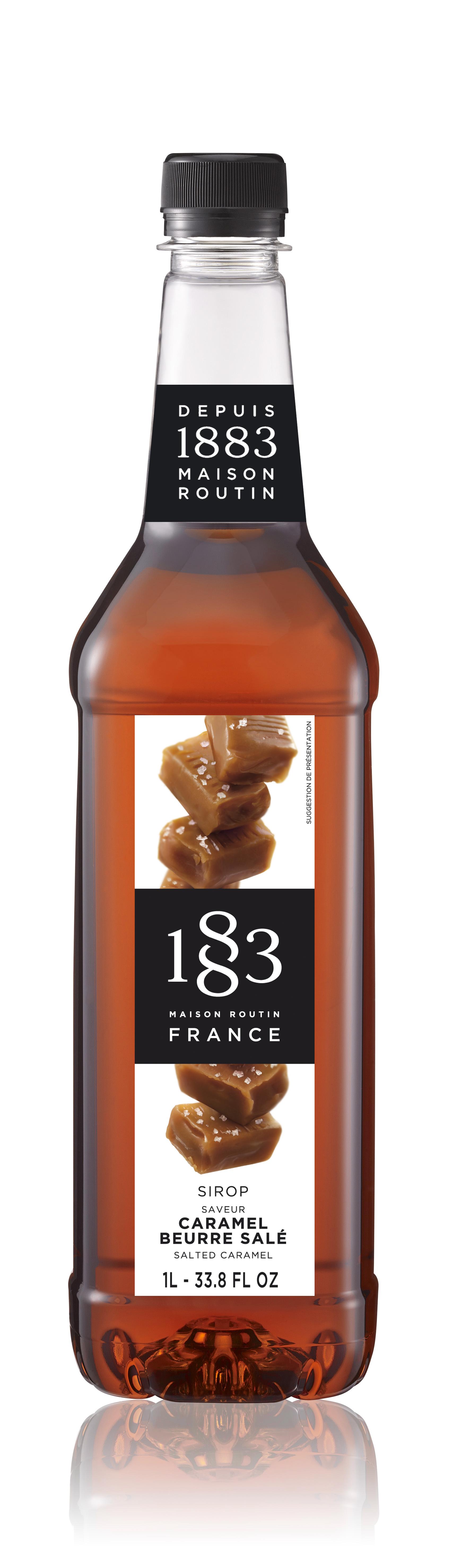 1883 Syrup Salted Caramel 1L PET Plastic Bottle