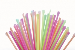 Neon Spoon Straws - 250