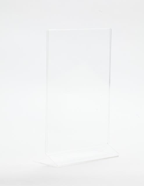 Acrylic Table Card / Menu Display for A5 Size Information
