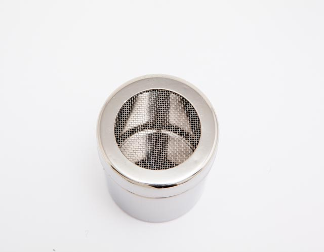 Small Shaker Mesh Net Top