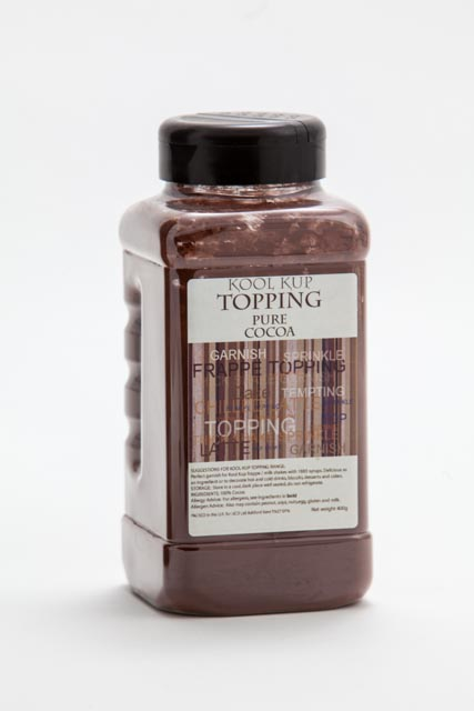 Pure Cocoa Dusting Powder 500g Kool Kup Topping Tub