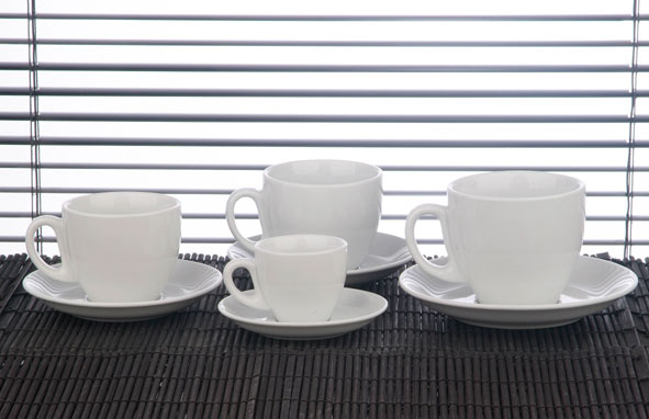 Cappuccino Cup and Saucer - 9floz